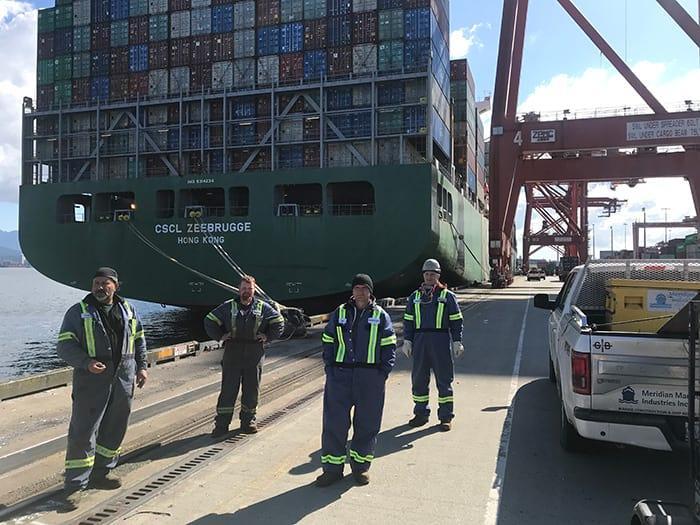 Container Ship Repair