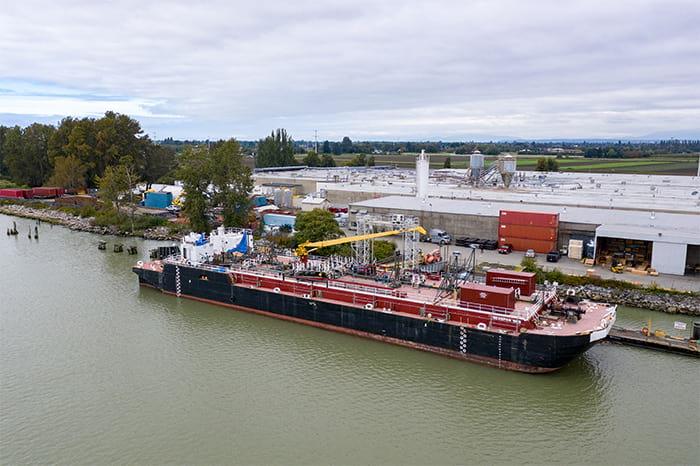 Seaspan 825 Conversion